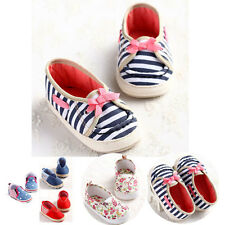 NEW Bowknot Star Newborn Baby Infant Boy Girl Non-slip Unisex Shoe Toddler #BU17