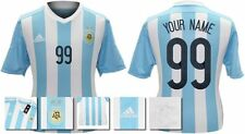 *15 / 16 - ADIDAS ; ARGENTINA HOME SHIRT SS / PERSONALISED = SIZE*