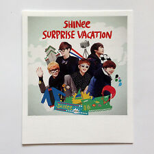SM TOWN COEX Artium SUM Official Goods SHINee Surprise Vacation Polaroid Photo