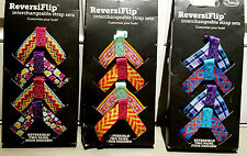 CHACO REVERSIFLIP INTERCHANGEABLE  STRAP SETS MULTI COLORS  SZ  5-11 SEE DETAILS