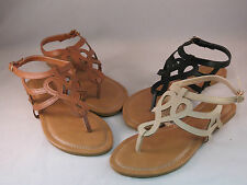 New Women's Fashion Sexy Summer Flat Heel Gladiator Sandals Shoes Size 5-10