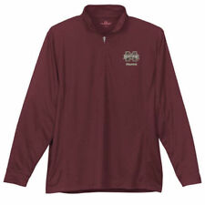 Mississippi State Bulldogs Vansport Quater Zip Mesh Pullover Jacket - NCAA