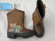 Disney BOYS Toy Story Cowboy BOOTS Woody Buzz Rodeo LIGHT UP shoes costume NEW
