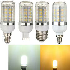 Lampadina Lampada E27/E14/E12/GU9/B22 5050 SMD LED Mais Dimmerable Luce w/Cover