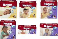 Huggies Little Movers Plus Diapers, Size 1 2 3 4 5 6 PICK ANY SIZE FREE SHIPPING