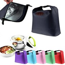 Travel Tote Picnic Lunch Dinner Box Bag Container Cooler Insulated Waterproof