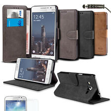 Flip Stand Wallet Card Hard Case Cover for Samsung Galaxy Grand Prime G530