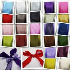 Taffeta Textured Wired Ribbon  25 Colours  25mm & 40mm  Great for Bows Etc.