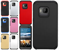 HTC One M9 HARD Astronoot Hybrid Hard Rubber Silicone Case Cover + Screen Guard