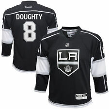 Youth Los Angeles Kings Drew Doughty Reebok Black Replica Player Hockey Jersey