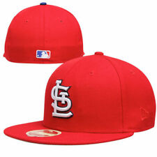 New Era St. Louis Cardinals Classic Wool 59FIFTY Fitted Hat - Red - MLB