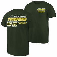 Oregon Ducks 2015 Rose Bowl Champions Quick Score T-Shirt - Green - NCAA