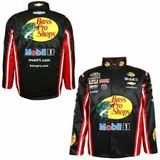 Mens Tony Stewart Chase Authentics Black 2015 Official Replica Uniform Jacket
