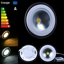 5W 10W 15W COB LED Ceiling Panel Recessed Down Light Lamp Bulbs Warm Cool White