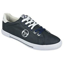 Sergio Tacchini Mens Trainers, Sergio Tacchini Edison Tennis Shoes Navy -GENUINE