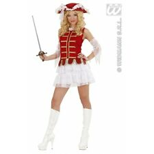Ladies Musketeer Girl Costume for 16th 17th Century Cavalier Fancy Dress