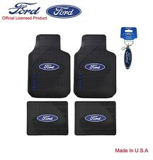 New Set Ford Factory Style Car Truck Front Back All Weather Rubber Floor Mats