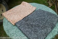 NIP Granite Round Vinyl Fitted Dining Tablecloth Patio Picnic Table Cover Pad