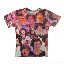 Harry Styles One Direction 3D where we are tour Women Mens T-shirt tee