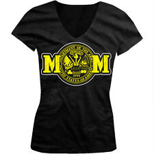 US Army MOM - Department of the ARMY USA Juniors V-neck T-shirt