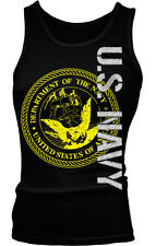 US Navy- Department of the Navy United States of America Boy Beater Tank Top