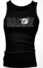 Bacon Makes Everything Better - Meat Breakfast Paleo Funny Boy Beater Tank Top