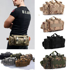 New Tactical MOLLE Utility Waist/Shoulder/Handbag Sport Camping Travel Pouch Bag