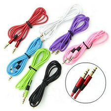 3.5 mm Jack Male to Male Aux Extension Audio Stereo Cable Cord For iPhone iPod N