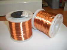 Clear Enamelled Copper Wire - Various Diameters & Lengths
