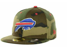 Official Buffalo Bills New Era NFL Camo Pop 59FIFTY Fitted Hat
