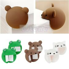 New 2pcs Silicone Baby Safety Protector Desk Table Corner Edge Protection Cover