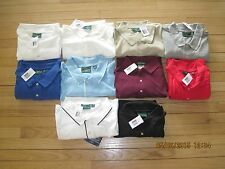 OUTER BANKS MENS SHORT SLEEVE POLO SHIRT. Sm  2XL 3XL 4XL RED WHITE BLUE GRAY
