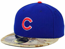 Official  MLB 2015 Chicago Cubs Memorial Day New Era 59FIFTY Fitted Hat