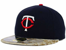 Official  2015 Minnesota Twins Memorial Day Stars Stripes New Era 59FIFTY Hat
