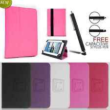 """New Universal PU Leather Stand Case Cover For 7"""" 8"""" 10"""" Inch Tab Android Tablet"""