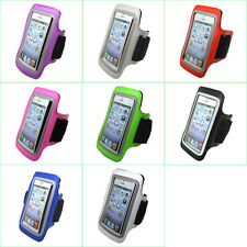 Gym Sports Running Jogging Cycling Armband Arm Band Leather Case Pouch Cover S4