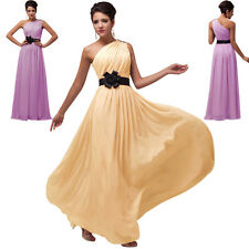 Discount Long Bridesmaid Prom Evening Homecoming Party Dresses Wedding BALL Gown