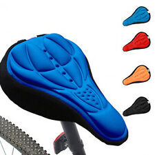 Super Cycling Bicycle Silicone Saddle Seat Cover Silica Gel Cushion Soft Pad