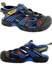 Boys Sandals/Water Shoes by NERF Blue Orange Black New wTags USA Boys Size 2 M