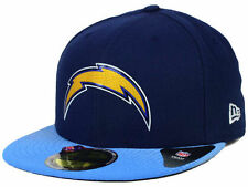 Official 2015 NFL Draft San Diego Chargers Hat New Era 59FIFTY On Stage