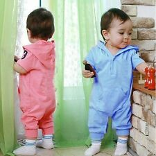Baby Boy Newborn Top Short Sleeve Outfit Romper Bodysuit Clothes Multicolor New