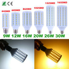 NEW E27/E14/B22 6W/9W/12W/16W/20W LED 5050 SMD Corn Light Bulb Lamp 110V 220V