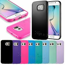 Ultra Slim TPU Silicone Rubber Gel Back Case Cover for Samsung Galaxy S6 edge