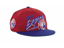 Montreal Expos Kid's Youth MLB Cooperstown New Era Flat Brim Snapback Hat Cap CD