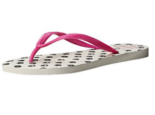 Women's Havaianas Slim Fresh Flip Flops White Rose