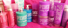 VICTORIA'S SECRET PINK BODY BUTTER, LOTION, MIST,SCRUB,2 IN 1 WASH, HAIR SHIMMER