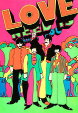 The Beatles - All You Need Is Love - Yellow Submarine Poster