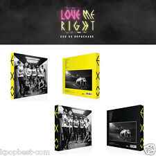 EXO LOVE ME RIGHT (2nd Album REPACKAGE) Korean Chinese CD+PhotoBook+Poster+Gift