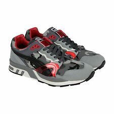 Puma X Homegrown Trinomic XT2 Plus Mens Gray Red Textile Sneakers Shoes