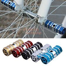 2 x Mountain Cycling Bike Bicycle Hexagonal Axle Pedal Alloy Foot Stunt Pegs